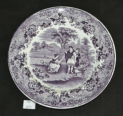 ThriftCHI ~ P Regout & Co Maastricht Collectors Plate Ruth Boas