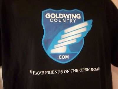 Goldwing Country American Rally Tour 2007 T Shirt Mens Large L