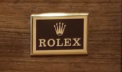 Rolex Watch Box Case with accessories ~ Brown