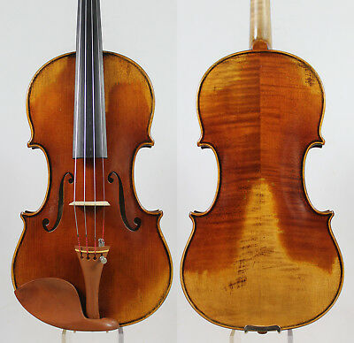 "Guarnieri 'del Gesu' 1744 ""OLE BULL"" Copy 4/4 Violin M2965 Powerful sound"