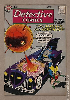 Detective Comics (1937 1st Series) #266 VG 4.0 RESTORED