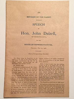 1902-1906 Republican President, Senate & House of Reps Speeches & Extracts