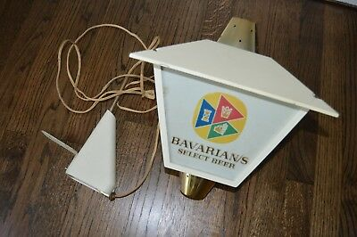 ~~Vintage Bavarian Bavarians Select Beer Light Lighted Sign~~Double Sided?~~