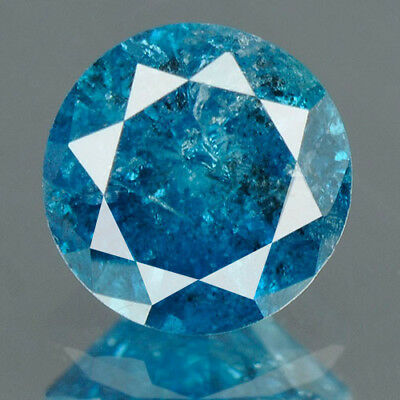 0.45 Cts BUY CERTIFIED Round Brilliant Cut Blue Color Loose Natural Diamond 5094
