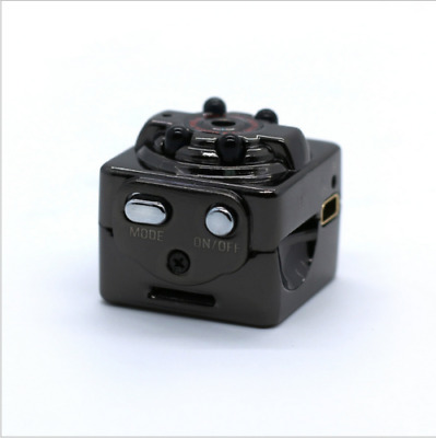 SQ8 Full HD 1080P Mini Car DV DVR Camera Spy Hidden Camcorder IR Night Vision IR