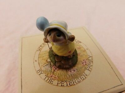 """Wee Forest Folk Mice """" COME PLAY """" M-131 - Mint W/Orig. Box - 1991"""