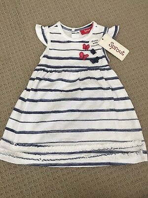 BNWT SPROUT SIze 0 (6-12 Months) Baby Girl Dress. New!