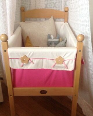Moulin Roty French baby crib bassinette