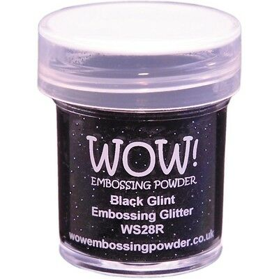 WOW!Embossing Powder 15ml - Black Glint