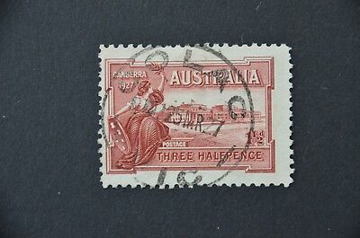 AUSTRALIA 1927 Parliament opening Used before first day of issue