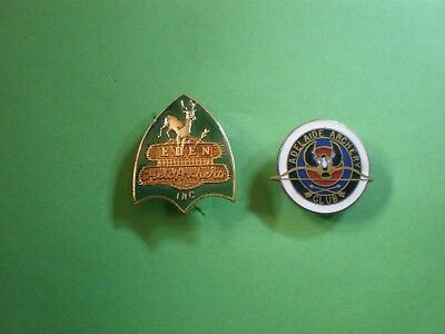ARCHERY CLUBS = EDEN = ADELAIDE BADGES postage  FREE.