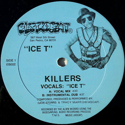 Ice T ‎– Killers / Body Rock