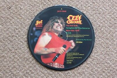 Ozzy Osbourne - Symptom Of The Universe - Picture Disc - Jet Records