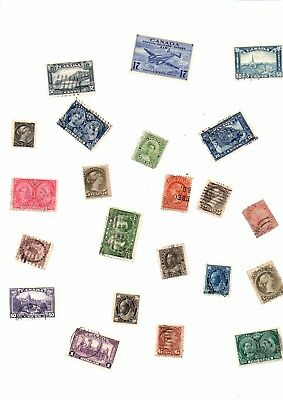 Big Lot Of Stamps From Canada ( 1200 )