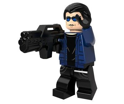 Custom Captain Cold Marvel DC Hero Minifigure fit Lego Mini Figure Minifig