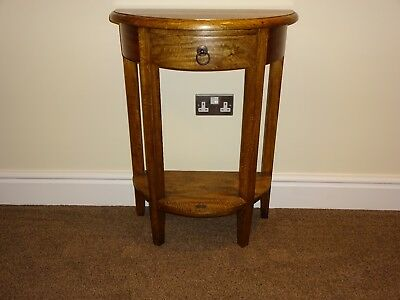 Dark Wood telephone table