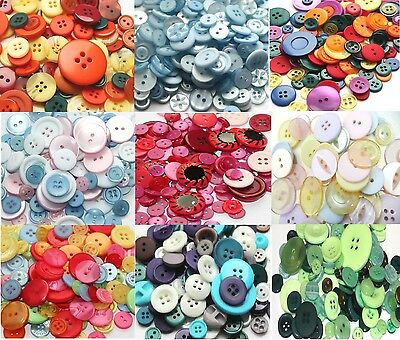 50g Bag Assorted Mixed Buttons Arts Crafts Card Making Scrapbooking Sewing