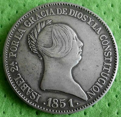 20 Reales 1851