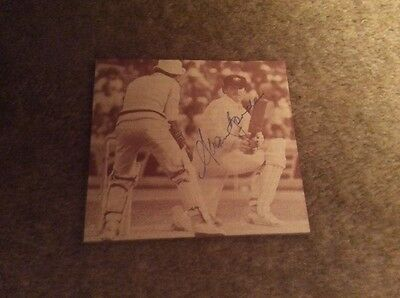 Alann Border autograph great Aus