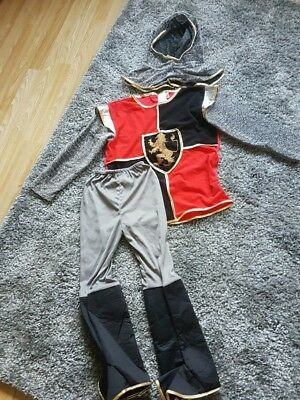 Boys Knight Fancy Dress Costume.  Aged 5-7 Year's.  Only Been Worn Once .