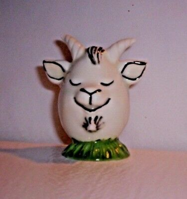 GOAT G79  11.86.2  CERAMIC CHARACTER Sly GOAT  Pie Bird