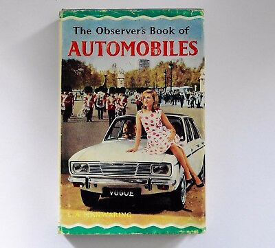 Vintage   The Observers Book  Automobiles 1967