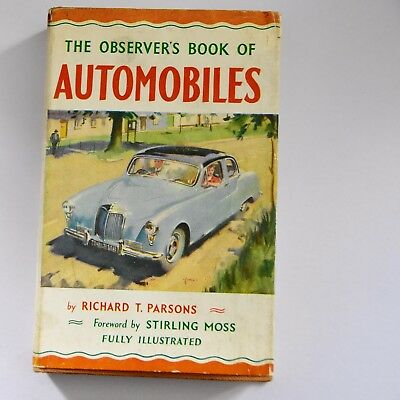 Vintage   The Observers Book  Automobiles 1956