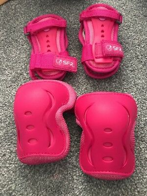 Pink SFR Wrist And Knee Protector