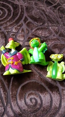 Pocket Dragons Rare Set of 3 Figurines