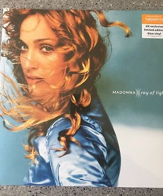 Madonna Ray Of Light Limited Edition Blue Vinyl Double LP