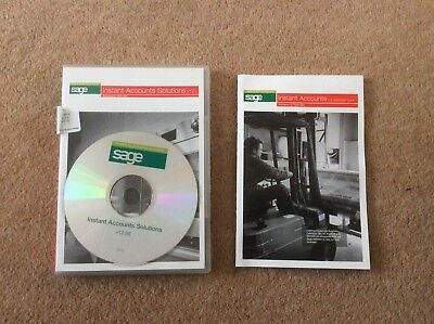 Sage Instant Accounts v12 2006 Used
