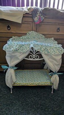 Silver Cross So Pretty Canopy Bed for baby doll up to 40cm size