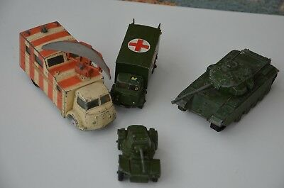 Dinky / Corgy Military Collection - 4 Vechicles