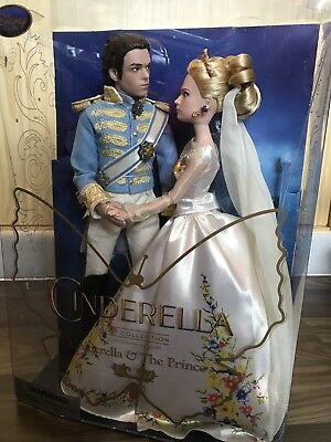 Cinderella & The Prince Live Action Doll Film Collection