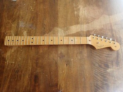 Fender Strat Select Series Flame maple neck and NEW  locking tuners & Bone Nut