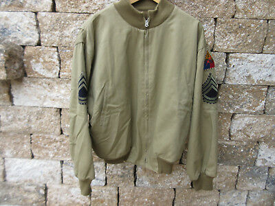 US Army Tanker Jacket TALON Fury Normandie US made   WWII Wk2 Gr. 54/56