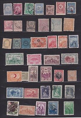 collection of Turkey, mostly  early issues   2 Scans