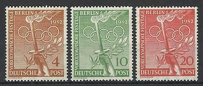 Germany / Berlin 1952 Olympic Games Set Mint
