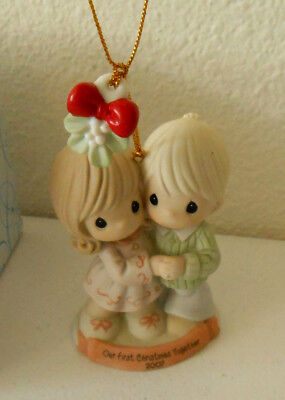 Precious Moments Ornament 2007 OUR FIRST CHRISTMAS TOGETHER #710004
