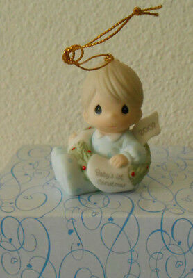 Precious Moments ornament BABY'S FIRST CHRISTMAS 2007 # 710006
