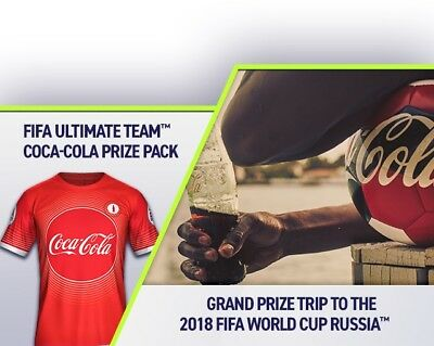 Coca Cola FIFA 18 Special Code To Win One Of The Cool Prices. See Detais