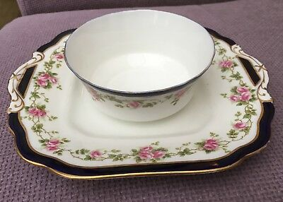 Beautiful Aynsley bowl and plate