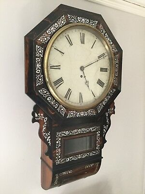 Very Nice Drop Dial Fusee Wall Clock (re listed as buyer not able to proceed)!