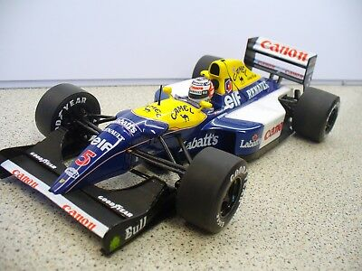 Williams FW14B Nigel Mansell  Quartzo (NOT Minichamps) 1.18 scale