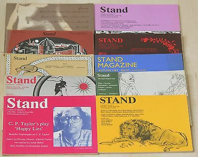 Set of 10 STAND magazines