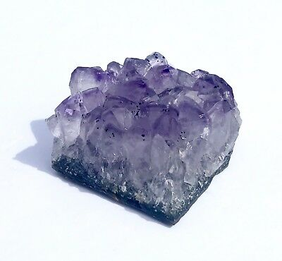 Natural Amethyst Cluster Beautiful Individual Druze Piece - Raw Amethyst Crystal