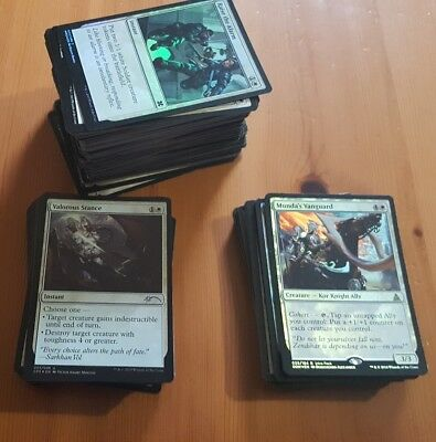 MTG All White Lot with 37 Rares plus Foils - 262 Cards. No reserve.
