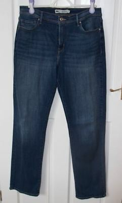 "LEVI ""Perfectly Slimming' 512 stretch jeans - size 14"