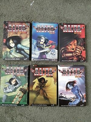 battle angel alita 2,3,4,5,6,8
