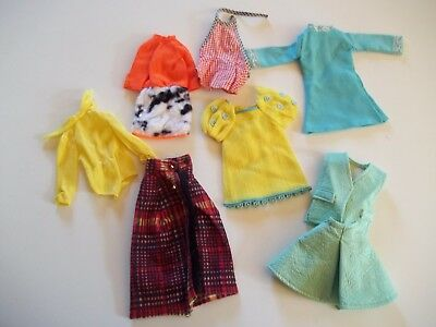 """Lot of  Vintage Clothes for 11 1/2"""" Barbie Doll"""